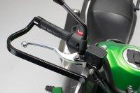 BBSTORM Handprotektoren-Kit Schwarz. Kawasaki KLE 250/...