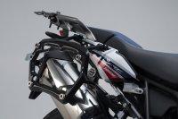 PRO Seitenträger Schwarz. Honda CRF1000L Africa Twin...