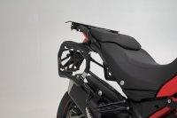 PRO Seitenträger Schwarz. Ducati Multistrada 1200/...