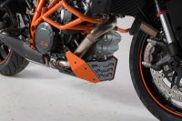 Bugspoiler Orange/Schwarz. KTM 1290 Super Duke R / GT.
