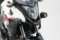 Scheinwerfer-Halter Schwarz. Honda CB500X (13-18).
