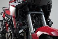 Scheinwerfer-Halter Schwarz. Honda CRF1000L/ CRF1100L mit...