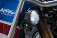 Scheinwerfer-Halter Schwarz. Honda CRF1000L Adv Sports...