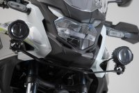 Scheinwerfer-Halter Schwarz. Honda CB500X (18-).