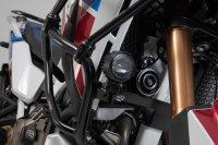 Scheinwerfer-Halter Schwarz. Honda CRF1100L/Adv. Sports...