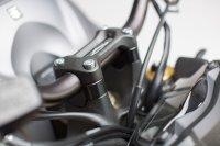 Lenkererhöhung H=20 mm. Schwarz. Suzuki GSX-S 1000 /...