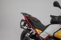 PRO Seitenträger Schwarz. Moto Guzzi V85 TT (19-).