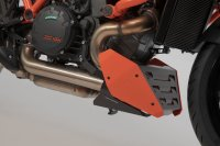 Bugspoiler Orange/Schwarz. KTM 1290 Super Duke R (19-).