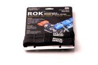 ROK Straps 2 verstellbare Spanngurte. Schwarz. 500-1500 mm.
