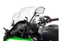 Navi-Halter am Lenker Schwarz. Kawasaki Z1000SX, Ninja...