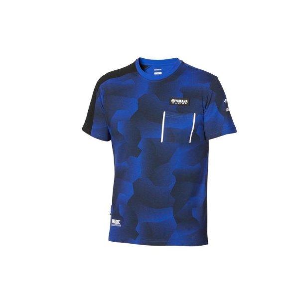 Paddock Blue Camo-T-Shirt für Herren
