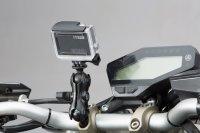 "Universal GoPro Kamera-Kit Inkl. 1"" Kugel, Klemmarm,..."